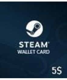 Carte Steam 5 $ (GLOBAL)