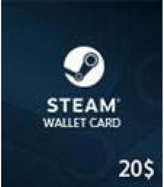 Carte Steam 20 $ (GLOBAL)
