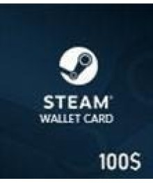 Carte Steam 100 $ (GLOBAL)