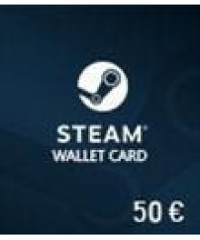 Carte Steam 50 € (EU)