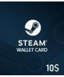 Carte Steam 10 $ (GLOBAL)
