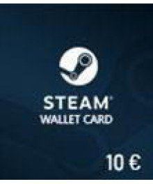 Carte Steam 10€ (EU)