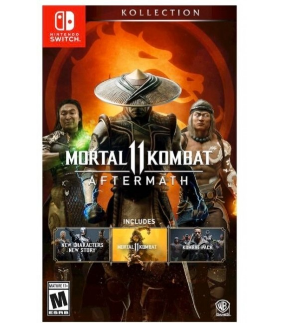Mortal Kombat 11 Aftermath Kollection Nintendo Switch