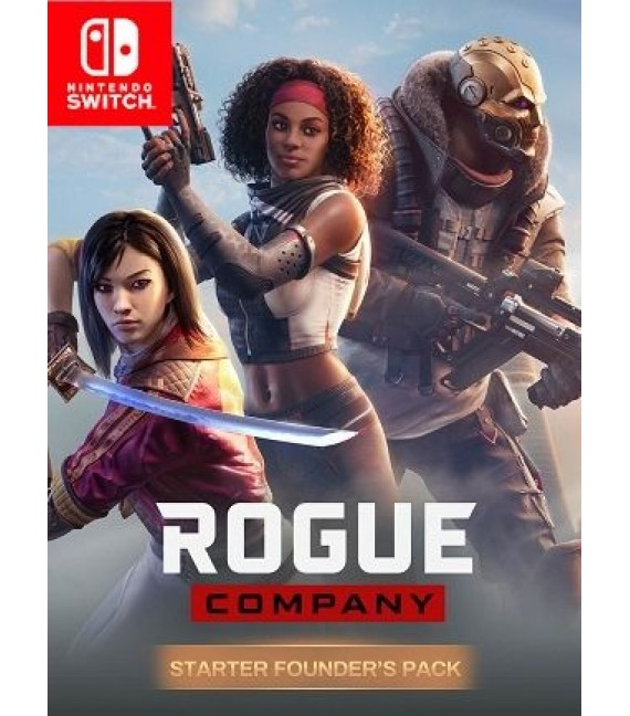 Rogue Company Starter Founder's Pack Nintendo Switch