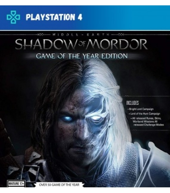 Middle Earth Shadow of Mordor (compte)