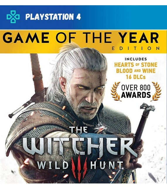 The Witcher 3 Wild Hunt GOTY Edition (compte)