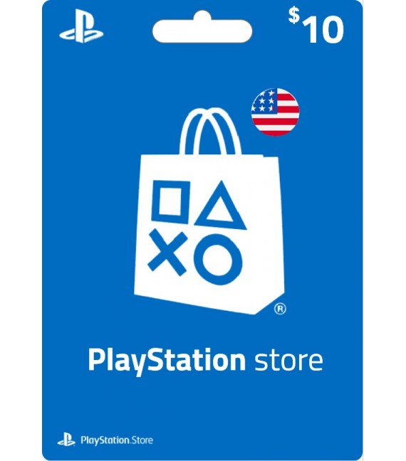 Carte Psn 10 $ USD