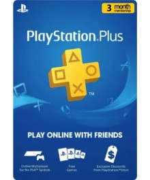 Playstation Plus 3 Mois UAE