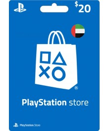Carte Psn 20 $ UAE