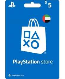 Carte Psn 5 $ UAE