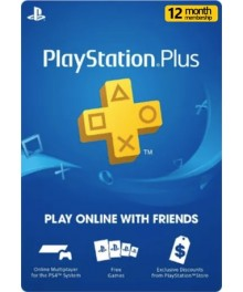 Playstation Plus 12 Mois UAE
