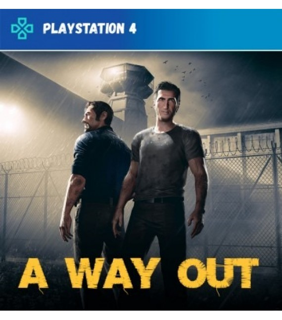 A Way Out PS4  (compte]
