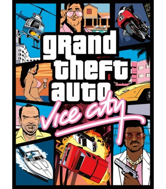Grand theft auto (GTA) Vice City PC