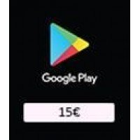 Google Play Card 15€ (EU)