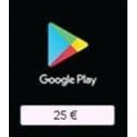 Google Play Card 25€ (EU)