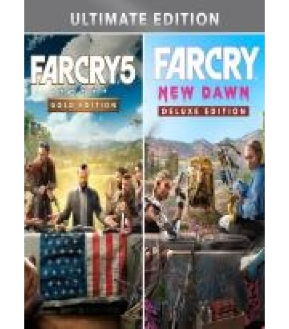 Far Cry 5 Gold Edition + Far Cry New Dawn Deluxe Edition Bundle Xbox (EU)
