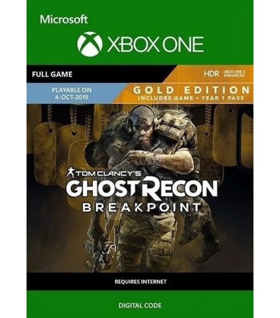 Tom Clancy's Ghost Recon Breakpoint Gold Edition Xbox One